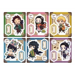 Demon Slayer: Kimetsu no Yaiba assortiment charms Retro Mascot Outing Set (6)