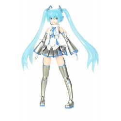 Hatsune Miku Frame Arms Girl figurine Plastic Model Kit Snow Miku 15 cm