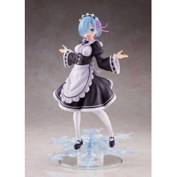 Re:Zero statuette PVC AMP Rem Winter Maid Image Ver. 23 cm