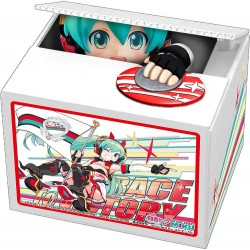 Hatsune Miku GT Project tirelire PVC Racing Miku 2020 Ver. Chatting Bank 005 12 cm
