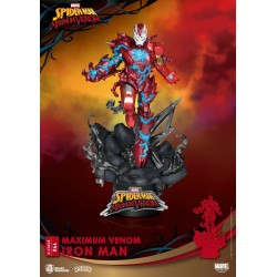 Marvel Comics diorama PVC D-Stage Maximum Venom Iron Man 16 cm