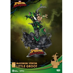 Marvel Comics diorama PVC D-Stage Maximum Venom Little Groot 16 cm