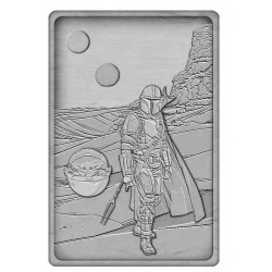 Star Wars: The Mandalorian Lingot Iconic Scene Collection The Mandalorian Limited Edition