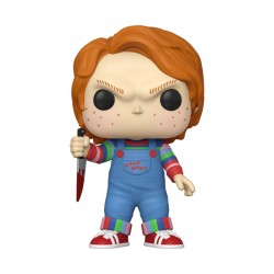 Chucky Jeu d´enfant Super Sized POP! Movies figurine Chucky 25 cm