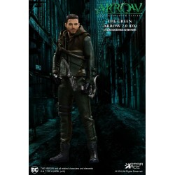 Arrow figurine Real Master Series 1/8 Green Arrow 2.0 Deluxe Version 23 cm