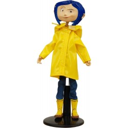 Coraline figurine flexible Raincoat & Boots 18 cm