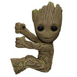 Les Gardiens de la Galaxie Vol. 2 figurine Scalers Groot 5 cm