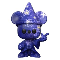 Fantasia 80th Anniversary POP! TV Vinyl figurine Mickey n°1(Artist Series) w/Pop Protector 9 cm
