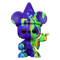 Fantasia 80th Anniversary POP! TV Vinyl figurine Mickey n°2 (Artist Series) w/Pop Protector 9 cm