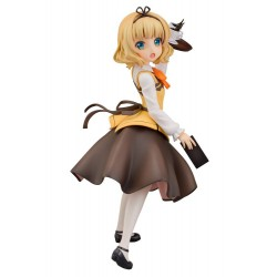 Is the Order a Rabbit statuette PVC 1/7 Syaro (Cafe Style) 21 cm