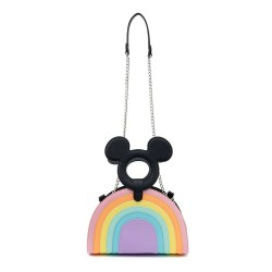 Disney by Loungefly sac à bandoulière Mickey Mouse Pastel Rainbow