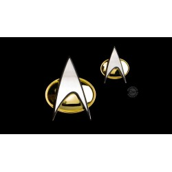 Star Trek: The Next Generation set pin's & pin Communicator