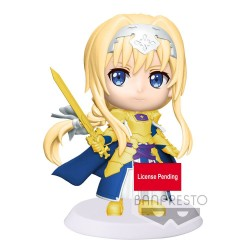 Sword Art Online Alicization War of Underworld figurine ChiBi Kyun Alice 6 cm