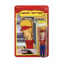 Beavis & Butt-Head Wave 1 figurine ReAction Burger World Beavis 10 cm