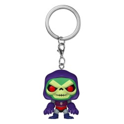 Masters of the Universe porte-clés Pocket POP! Vinyl Skeletor w/Terror Claws 4 cm