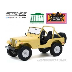 Charlie´s Angels 1980 Jeep CJ-5 1/18 métal
