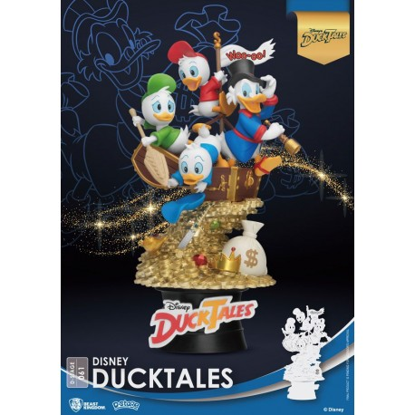 Disney Classic Animation Series diorama PVC D-Stage DuckTales 15 cm