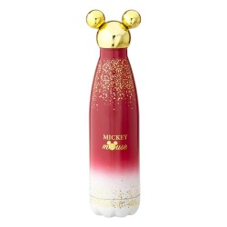 Disney Bouteille metal Mickey Berry Glitter