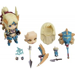 Monster Hunter World Iceborne figurine Nendoroid Hunter Female Zinogre Alpha Armor Ver. DX 10 cm
