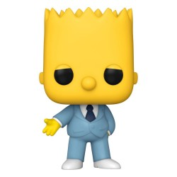 Simpsons Figurine POP! Animation Vinyl Mafia Bart 9 cm