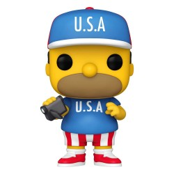 Simpsons Figurine POP! Animation Vinyl USA Homer 9 cm