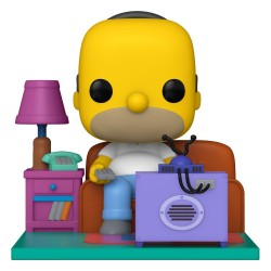 Simpsons Figurine POP! Animation Vinyl Homer Watching TV 18 cm