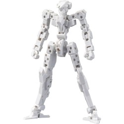 Frame Arms figurine Plastic Model Kit 1/100 Frame Architect Type 001 Off White 14 cm
