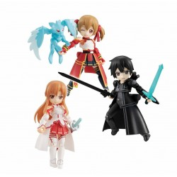 Sword Art Online assortiment figurines Desktop Army 8 cm Asuna & Kirito & Shirika (3)