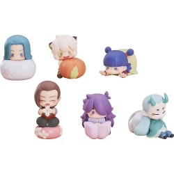 The Legend of Hei pack 6 figurines Wagashi 5 - 7 cm