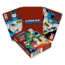DC Comics jeu de cartes à jouer Retro Justice League