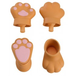 Original Character accessoires pour figurines Nendoroid Doll Animal Hand Parts Set (Brown)