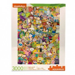 Nickelodeon puzzle Cast (3000 pièces)