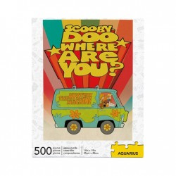 Scooby-Doo puzzle Where Are You? (500 pièces)