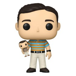 40 ans, toujours puceau POP! Movies Vinyl figurine Andy holding Oscar 9 cm