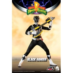 Mighty Morphin Power Rangers figurine FigZero 1/6 Black Ranger 30 cm
