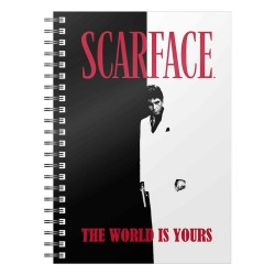 Scarface cahier The World Is Yours
