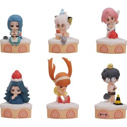 The Legend of Hei pack 6 figurines Collectible Series Happy Birthday! 7 cm