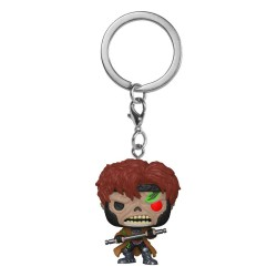 Marvel Zombies porte-clés Pocket POP! Vinyl Gambit 4 cm