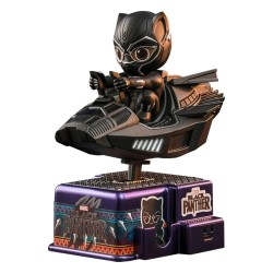 Black Panther figurine sonore et lumineuse CosRider Black Panther 15 cm