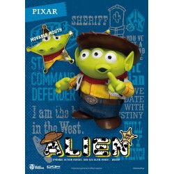 Toy Story figurine Dynamic Action Heroes Alien Remix Woody 16 cm