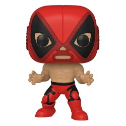Marvel Luchadores Figurine POP! Vinyl Deadpool 9 cm