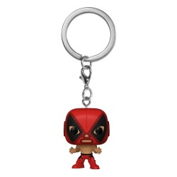 Marvel Luchadores porte-clés Pocket POP! Vinyl Deadpool 4 cm
