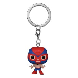 Marvel Luchadores porte-clés Pocket POP! Vinyl Spider-Man 4 cm
