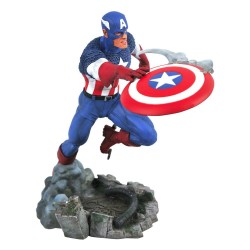 Marvel Comic Gallery Vs. statuette Captain America 25 cm