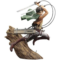Attack on Titan statuette PVC ARTFX J 1/8 Eren Yeager Renewal Package Ver. 26 cm