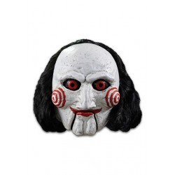 Saw masque latex Billy Puppet