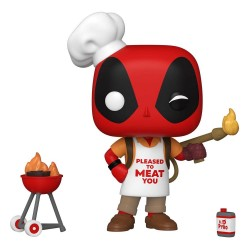 Marvel Deadpool 30th Anniversary Figurine POP! Vinyl Backyard Griller Deadpool 9 cm