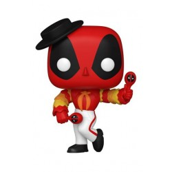 Marvel Deadpool 30th Anniversary Figurine POP! Vinyl Flamenco Deadpool 9 cm