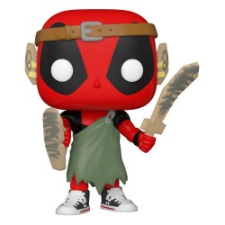 Marvel Deadpool 30th Anniversary Figurine POP! Vinyl Nerd Deadpool 9 cm