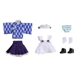 Original Character accessoires pour figurines Nendoroid Doll Outfit Set Japanese-Style Maid Blue
